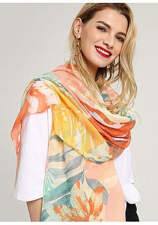 шарф летний женский фото