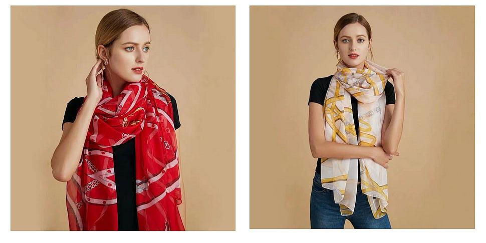 стильные шарфы фото