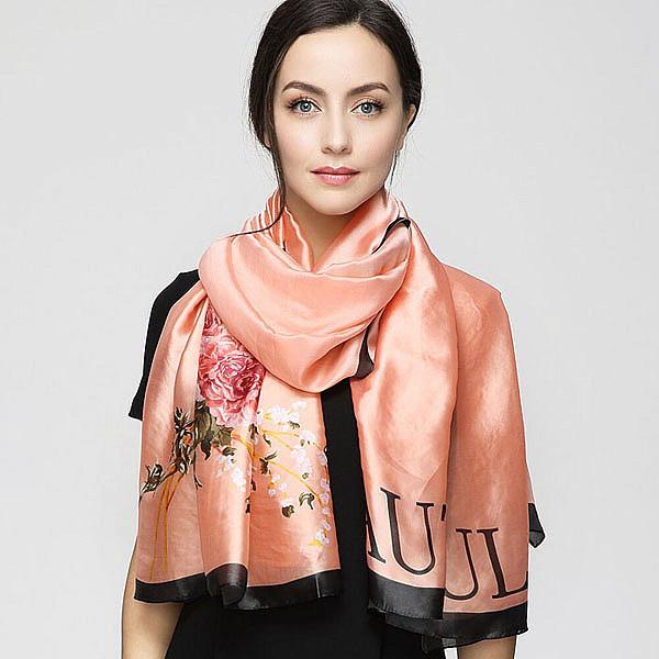 красивые шелковые шарфы фото