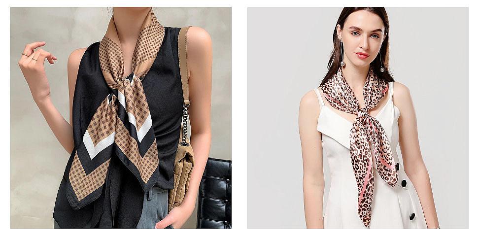 шарф под платье фото