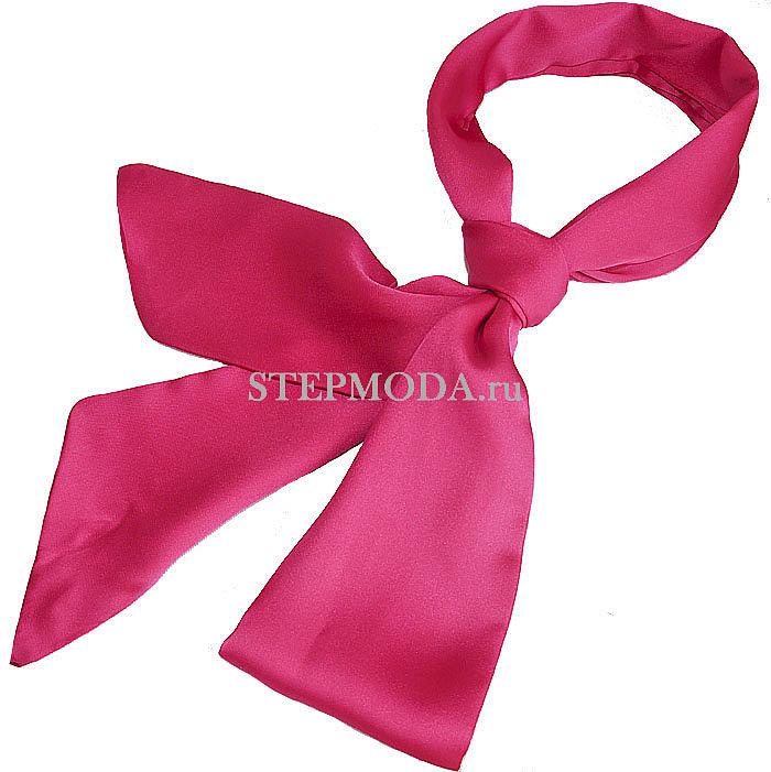 шейный платок с прямым узлом