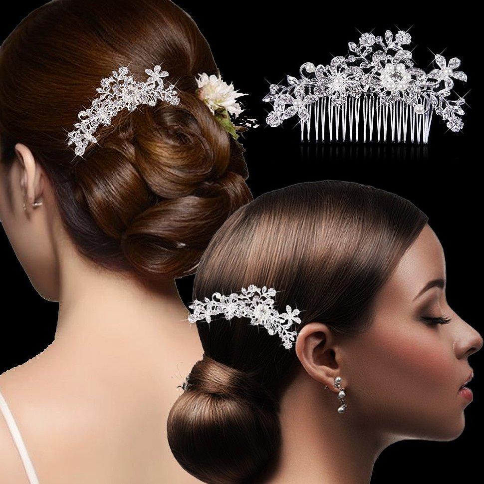 Украшение заколка гребень для волос