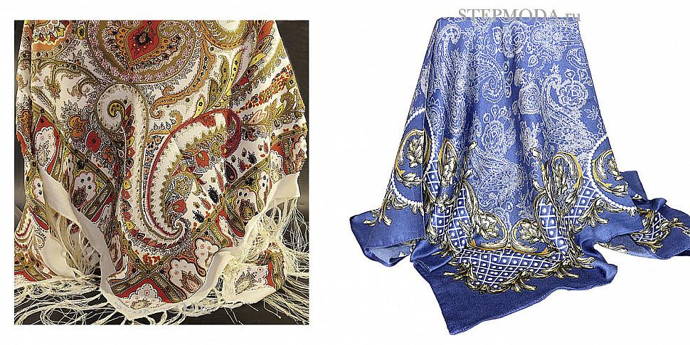 платок с принтом пейсли