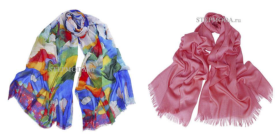 шарф из вискозы фото