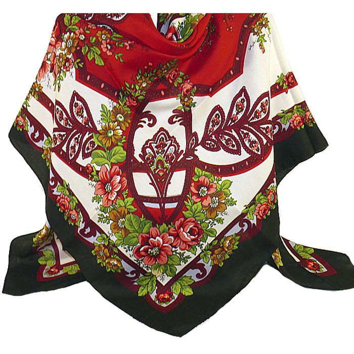 купить красный платок на голову