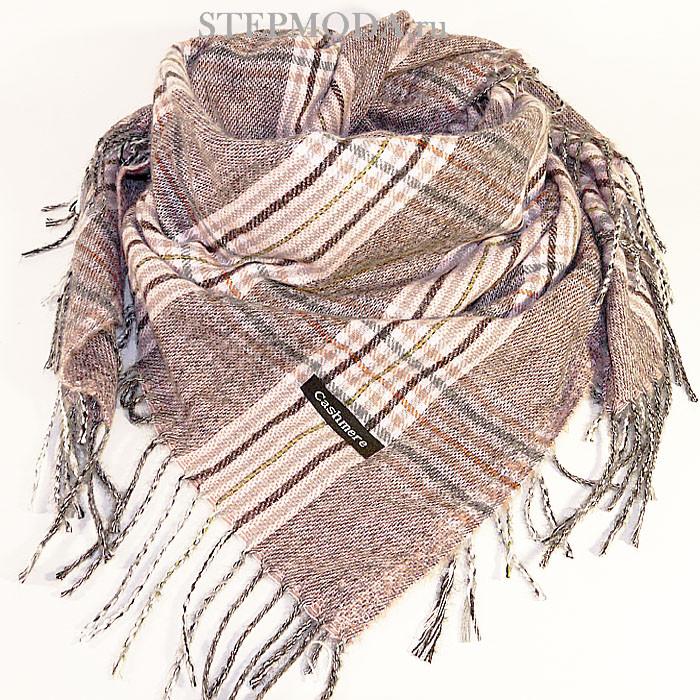 платок на шею с бахромой